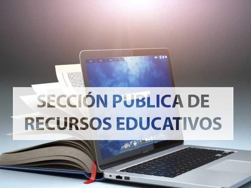 Sección pública de recursos educativos