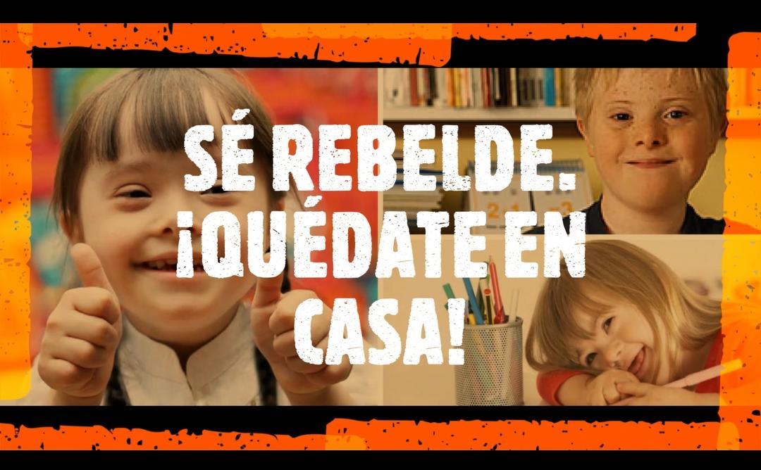 SECCIÓN PÚBLICA  DE RECURSOS. SÉ REBELDE ¡QUÉDATE EN CASA!